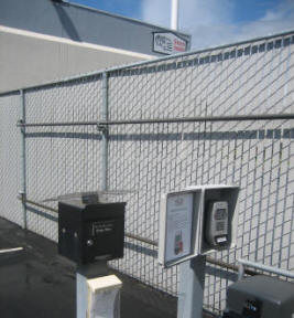 Secure Indoor Storage Starts with Fingerprint Access to the Staging Yard