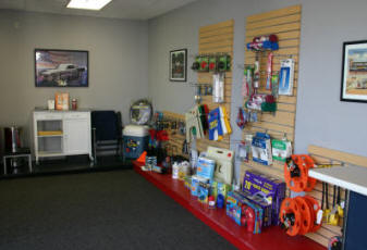 RV Accessories conveniently available for our RV Storage Customers