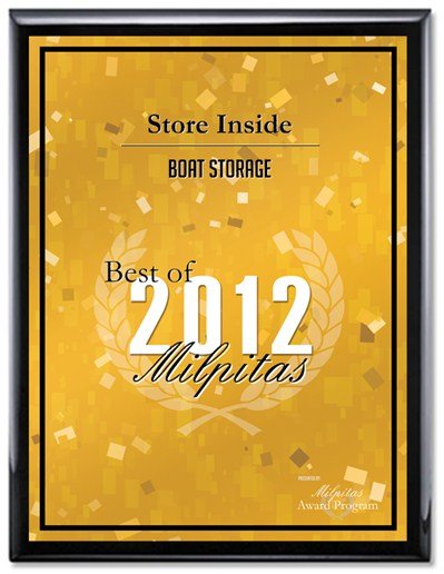 2012 Best Boat Storage Award