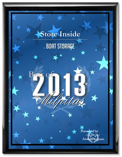 2013 Best Boat Storage Award